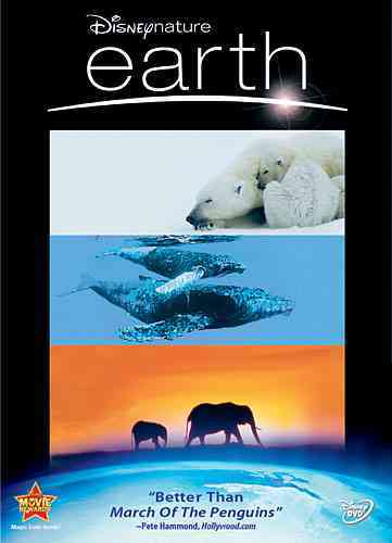 DISNEYNATURE:EARTH BY JONES,JAMES EARL (DVD)