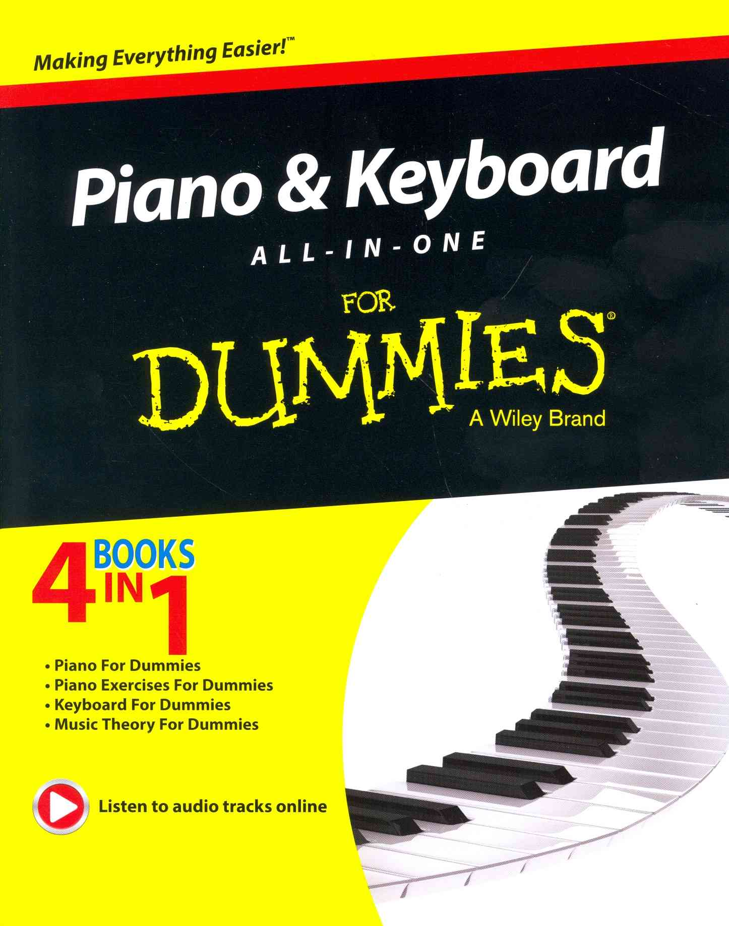 Piano and Keyboard All-in-One for Dummies By Consumer Dummies (COR)